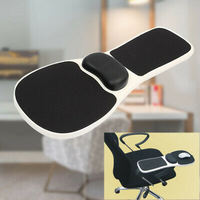 Computer Elbow Arm Rest Shoulder Support Mouse Pad Wrist Rest On Chair Home Work • 19.98£