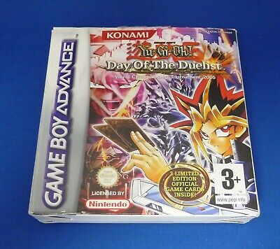 Gameboy Advance YU-GI-OH DAY OF THE DUELIST Boxed • 9.95£