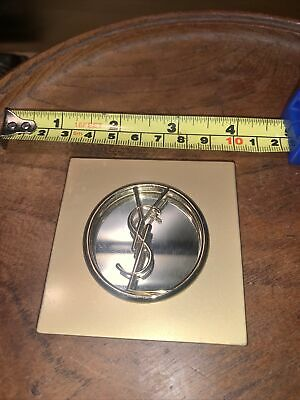 Yves Saint Laurent Gold Compact Mirror - Used • 10£
