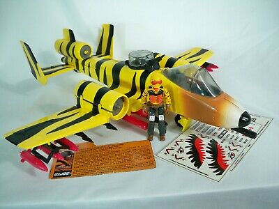 $ CDN391.01 • Buy K20i74251 TIGER RAT W SKYSTRIKER DECALS 1988 FORCE GI JOE 100% COMPLETE VINTAGE
