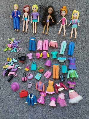 Polly Pocket Bundle, Dolls, Clothes, Accessories • 6.99£