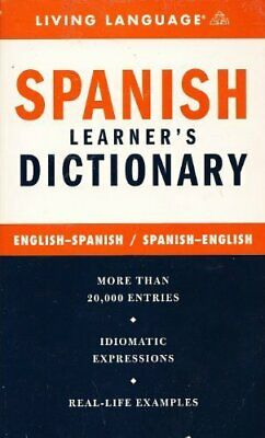 Spanish Complete Course Dictionary (Living Language Complete Course)-Living Lan • 2.53£