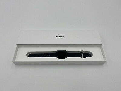 $ CDN195.50 • Buy Apple Watch Series 3 38mm Space Gray Aluminum Case Black Sport Band Warranty 21