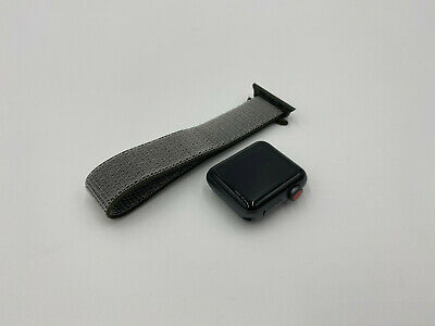 $ CDN208.53 • Buy Apple Watch Series 3 38mm Space Gray Aluminum Case GPS + LTE W/ Nylon Band 29