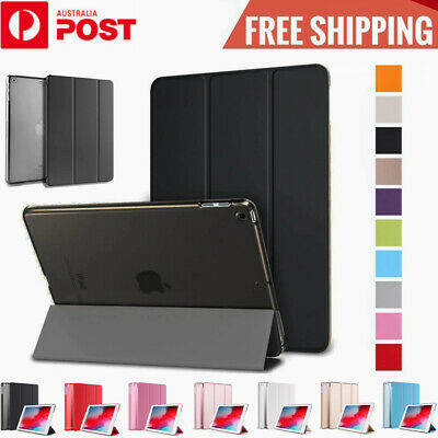 AU10.45 • Buy IPad Case Smart Cover Hard Back For Apple 7th 6th Gen 5 4 3 2 Mini Air Pro 2020