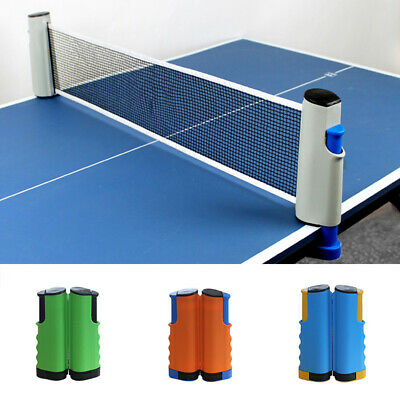AU17.69 • Buy Game Net Kit Table Tennis Net Portable Ping Pong Set Replacemnt Retractable Hot