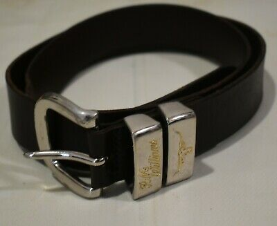 AU70 • Buy RM Williams Real Cowhide Leather Belt Men's Made In Australia Brown Size 40