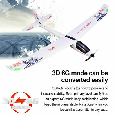 XK A800 RC Airplane 5CH 3D 6G Mode EPO RTF Aircraft 780mm Wingspan Fixed Wing • 51.70£