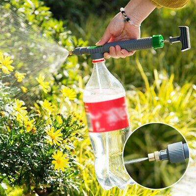 High Pressure Air Pump Manual Sprayer Garden Adjustable Drink Bottle Spray Head  • 4.26£