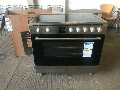 Montpellier MR90CEMX 90cm Electric Single Oven Range Cooker With Ceramic Hob  • 300£