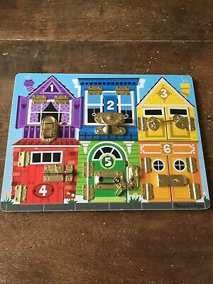 Melissa And Doug Latches Board • 10£