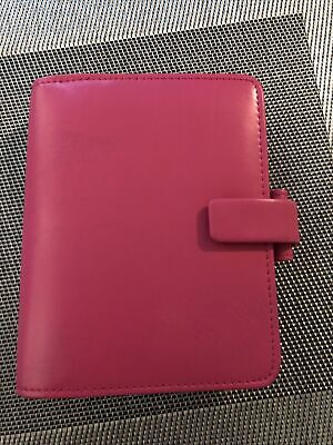 Pink Filofax Pocket Personal Organiser For Breast Cancer • 2.99£