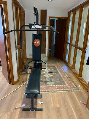 York Multi Gym Fitness With Bench And Weights • 300£