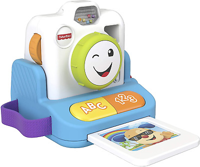 Fisher-Price GMX42 Laugh And Learn Click And Learn Instant Camera • 26.13£