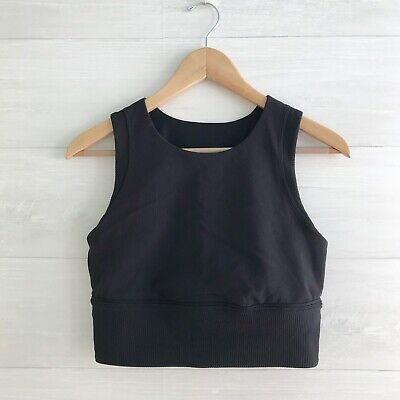 $ CDN35.68 • Buy Lululemon - Black Crop Top, Sz 10