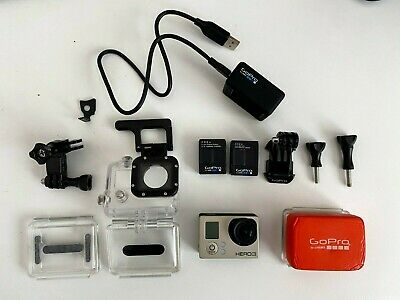 AU72.30 • Buy GoPro HERO3 Camera With Accessories - Silver