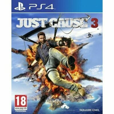 Just Cause 3 PS4 Inc Weaponized Vehicle Pack DLC & Fast Free Postage/Dispatch • 6.95£