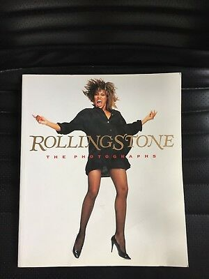 Rolling Stone The Photographs Massive Book - Lennon, Jagger, Yoko Ono, Hendrix • 15.49£