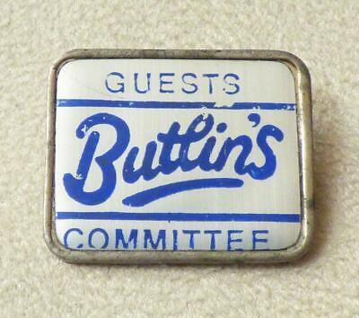 Butlins Holiday Camps -  Guests Committee  Badge • 4.99£