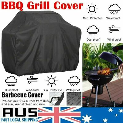 AU20.98 • Buy BBQ Cover 2/4/6 Burner Waterproof Outdoor Gas Charcoal Barbecue Grill Protector