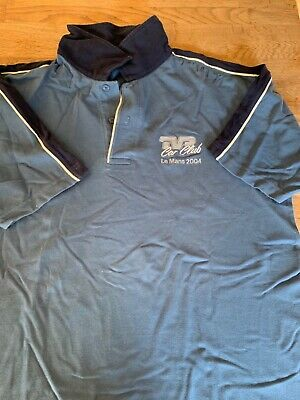 TVR Car Club Polo Shirt Le Mans 2004. Signed By Peter Wheeler • 10£