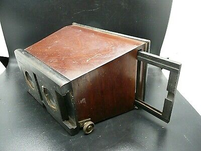 Antique 3d Stereoscope Table Top Viewer UNIS Type Poss French • 95£
