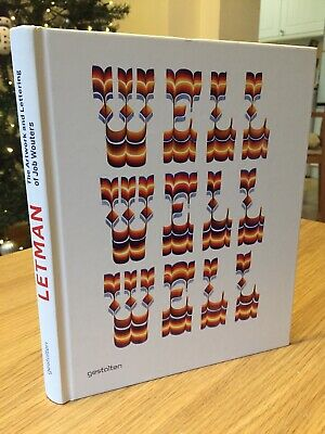 Letman: The Artwork And Lettering Of Job Wouters By Letman (Hardback, 2012) • 14.99£