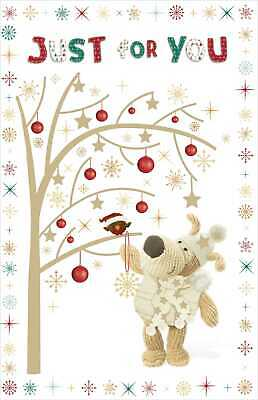 Boofle Just For You Christmas Greeting Card Cute Xmas Cards • 3.49£