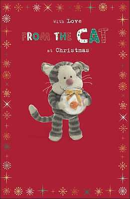 Boofle From The Cat Christmas Greeting Card Cute Xmas Cards • 2.99£