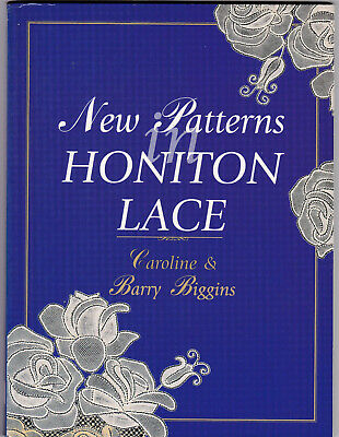 New Patterns  In Honiton  Lace Making Book • 9.99£