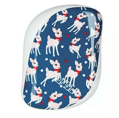 TANGLE TEEZER Compact Styler Deer Print Detangling Brush Xmas Design Stocking  • 4.99£