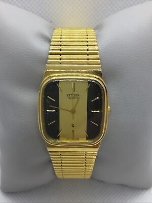 Vintage Citizen Quartz Gold Plated Watch 4031-S15904SMS Working Order  • 30£