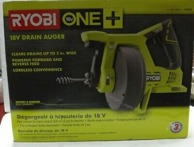 RYOBI 18-Volt ONE+ Drain Auger (Tool Only) BRAND NEW  • 56.19£