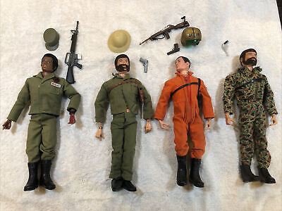 $ CDN323.98 • Buy Vintage GI JOE Lot 1960's 4 Action Figures And Accessories Gun Clothing