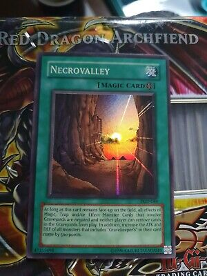 Yugioh Card Necrovalley PGD-084 Super Rare Unlimited Edition • 1.10£