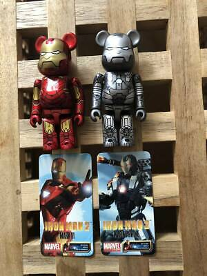 $204.85 • Buy Bearbrick / BE@RBRICK Series 20 SF Front / Back IRON MAN2 MARK VI & WARMACHINE
