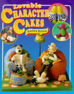 Lovable Character Cakes Debbie Brown Hardback Book Rupert Wallace & Gromit Babar • 1.99£