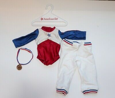 American Doll  Gymnastics Outfit Perfect Condition (with Medal/tracksuit) • 6£
