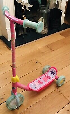 Kids Peppa Pig My First Tri Scooter 3 Wheels Age 3+ Years Used Bargain Toddler • 0.99£