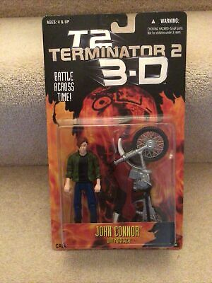 Terminator 2 3D John Connor With Motorcycle • 15£