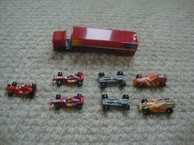 Micro Machines Job Lot - Racing Cars And Transporter X 8 • 3.20£