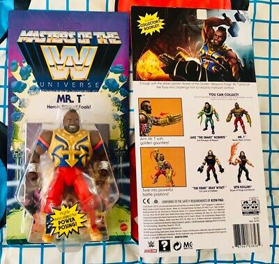 $35.99 • Buy Masters Of The WWE Universe MR T NIB SEALED Action Figure