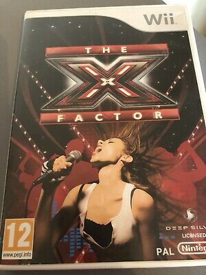 Nintendo Wii The X Factor Game. • 2£