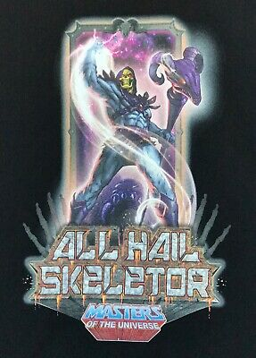 $18.66 • Buy Masters Of The Universe All Hail Skeletor Men's Medium T-shirt