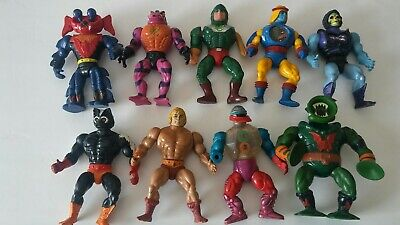 $89.99 • Buy Lot Of 9 Vintage He-man Masters Of The Universe Action Figures MOTU .