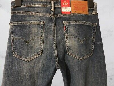 LEVI'S 519 Extreme Skinny Fit Men's Jeans W31 L32 - RRP £139 • 71.99£