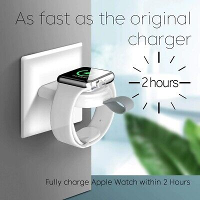 $ CDN6.12 • Buy Portable Wireless Charger For Apple Watch Series 6 SE 5 4 3 2 1 44mm/40mm Watch