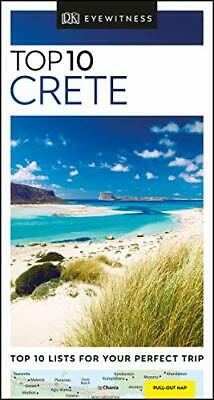 DK Eyewitness Top 10 Crete (Pocket Travel Guide) By DK Eyewitness Book The Cheap • 6.49£