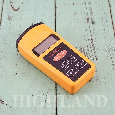 Laser Distance Meter Digital Ultrasonic Range Finder Measure Tape Diastim • 15.03£