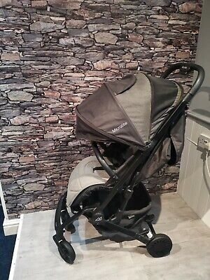Micralite Profold Compact Baby Stroller Pushchair Carbon • 90£